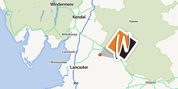 Kendal Plumbers - Wheildon's local area map.