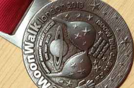 Moonwalk 2013 Medal