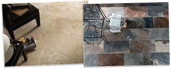 Italian and Spanish Porcelain Tile Ranges