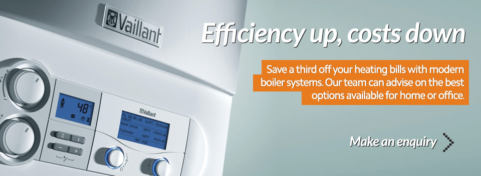 Modern boiler installations