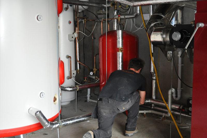 Boimass log burner boiler