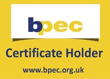 bpec Certificate Holder