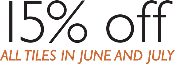 15% off in June and July